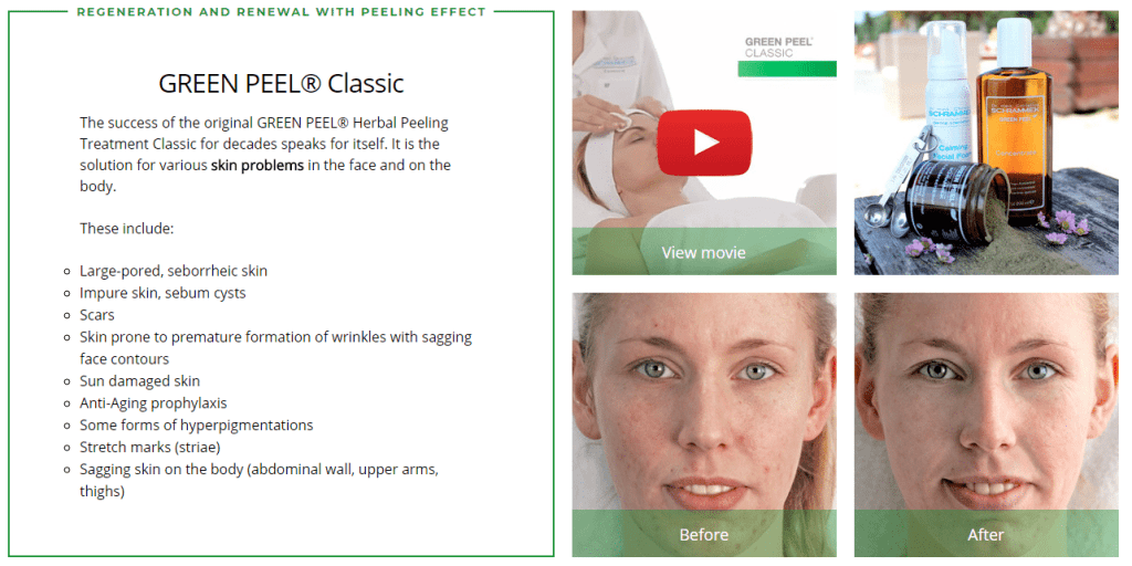 Herbal Green Peel